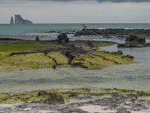 Βράχος πελεκάνων και Kicker Στοκ φωτογραφία με δικαίωμα ελεύθερης χρήσης