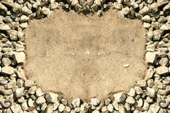 βράχος πλαισίων Στοκ Εικόνες