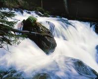 βράχος ποταμών βουνών Στοκ Εικόνα