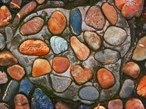 βράχος ποταμών μονοπατιών Στοκ εικόνες με δικαίωμα ελεύθερης χρήσης