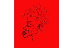 βράχος προσώπου διακριτ&io στοκ φωτογραφίες με δικαίωμα ελεύθερης χρήσης