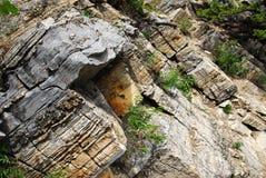 βράχος προτύπων βουνών Στοκ εικόνα με δικαίωμα ελεύθερης χρήσης