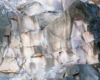 βράχος προτύπων σχηματισμ&omic Στοκ Εικόνες