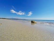 Βράχος στην ακτή Alghero Στοκ φωτογραφίες με δικαίωμα ελεύθερης χρήσης