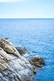 Βράχος στη θάλασσα Στοκ εικόνες με δικαίωμα ελεύθερης χρήσης