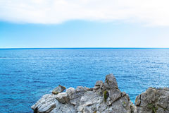 Βράχος στη θάλασσα Στοκ Φωτογραφίες