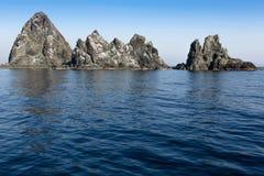Βράχος στη θάλασσα Στοκ Φωτογραφία