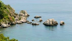 Βράχος στη θάλασσα Στοκ εικόνα με δικαίωμα ελεύθερης χρήσης