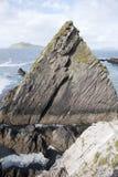 Βράχος στο λιμάνι Dunquin, κεφάλι Slea  Dingle χερσόνησος Στοκ φωτογραφίες με δικαίωμα ελεύθερης χρήσης