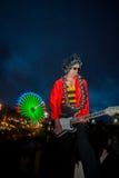 Βράχος στο Ρίο Λισσαβώνα 2014 - μεγάλο Rocker Στοκ εικόνα με δικαίωμα ελεύθερης χρήσης