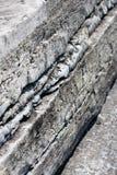 βράχος στρωμάτων Στοκ Φωτογραφίες