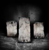 βράχος στυλοβατών Στοκ Εικόνες
