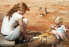 βράχος συλλογής Στοκ εικόνα με δικαίωμα ελεύθερης χρήσης