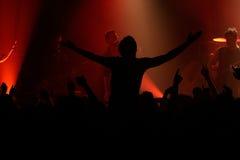 βράχος συναυλίας Στοκ φωτογραφίες με δικαίωμα ελεύθερης χρήσης