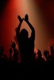 βράχος συναυλίας Στοκ φωτογραφία με δικαίωμα ελεύθερης χρήσης
