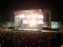βράχος συναυλίας Στοκ Φωτογραφίες