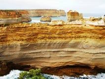 βράχος σχηματισμών της Αυ&sig Στοκ φωτογραφία με δικαίωμα ελεύθερης χρήσης