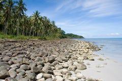 βράχος Ταϊλάνδη παραλιών στοκ εικόνες