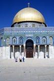 βράχος της Ιερουσαλήμ θόλων στοκ εικόνα με δικαίωμα ελεύθερης χρήσης
