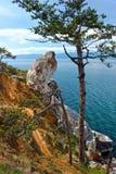 Ακτή Olkhon νησιών Στοκ Φωτογραφία