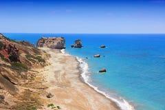Βράχος της Κύπρου Aphrodites Στοκ φωτογραφία με δικαίωμα ελεύθερης χρήσης