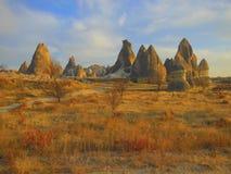 βράχος Τουρκία σχηματισμ& Στοκ Εικόνα