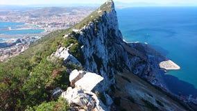 Βράχος του Γιβραλτάρ στοκ φωτογραφία με δικαίωμα ελεύθερης χρήσης