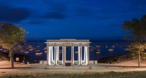 Βράχος του Πλύμουθ, μΑ, ΗΠΑ Στοκ εικόνα με δικαίωμα ελεύθερης χρήσης