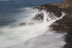 Βράχος του Φίσερ κοντά στον κόλπο Όρεγκον αποθηκών Στοκ φωτογραφία με δικαίωμα ελεύθερης χρήσης