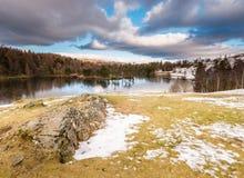 Βράχος του Tarn Hows Στοκ Φωτογραφίες