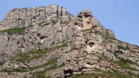 Βράχος υψηλών βουνών Στοκ εικόνα με δικαίωμα ελεύθερης χρήσης
