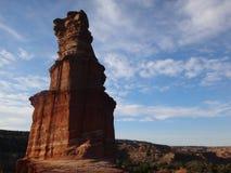 Βράχος φάρων - φαράγγι Palo Duro Στοκ Φωτογραφία
