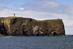 βράχος φάρων Στοκ εικόνα με δικαίωμα ελεύθερης χρήσης