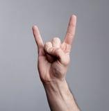 βράχος χεριών αριθμού Στοκ Εικόνες