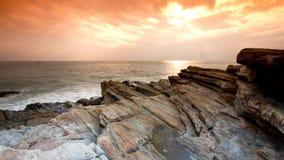 βράχος χρώματος Στοκ εικόνες με δικαίωμα ελεύθερης χρήσης