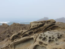 Βράχος ψαμμίτη Στοκ Φωτογραφία