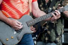 Μέσης ηλικίας Rockers Στοκ Φωτογραφία