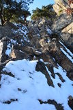 βράχος Στοκ εικόνες με δικαίωμα ελεύθερης χρήσης