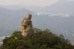 Βράχος Amah του Χονγκ Κονγκ στοκ φωτογραφίες