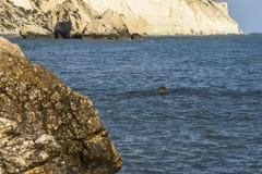 Βράχος Aphrodite στη Κύπρο Στοκ Εικόνα