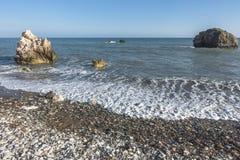 Βράχος Aphrodite στη Κύπρο Στοκ φωτογραφίες με δικαίωμα ελεύθερης χρήσης