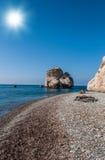 Βράχος Aphrodite Στοκ Φωτογραφία