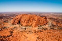 Βράχος Ayers Uluru Στοκ φωτογραφίες με δικαίωμα ελεύθερης χρήσης