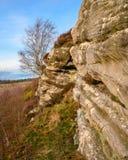 Βράχος Corby στο πορτρέτο Edlingham στοκ φωτογραφίες με δικαίωμα ελεύθερης χρήσης