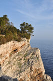 βράχος dugi otok Στοκ Εικόνες