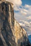 Βράχος EL Capitan στο εθνικό πάρκο Yosemite Στοκ εικόνες με δικαίωμα ελεύθερης χρήσης