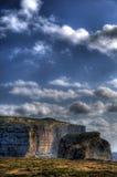 βράχος gozo μυκήτων ακτών Στοκ Εικόνα