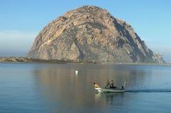 Βράχος Morro σε Καλιφόρνια Στοκ Εικόνες