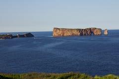 Βράχος Perce σε Gaspesie. Στοκ φωτογραφία με δικαίωμα ελεύθερης χρήσης