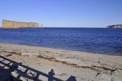 Βράχος Perce Στοκ φωτογραφίες με δικαίωμα ελεύθερης χρήσης